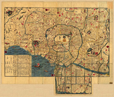 Ancient Edo Map
